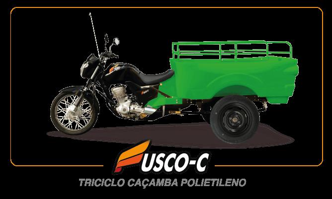 [imagem]: Triciclo de Carga Caçamba Polietileno