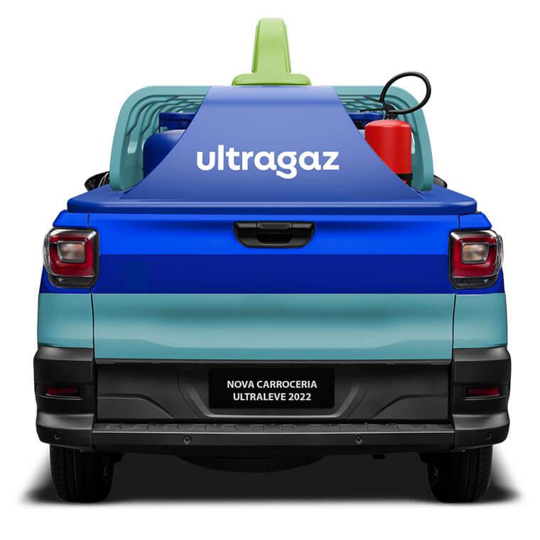 Carroceria Pick-up Ultragaz
